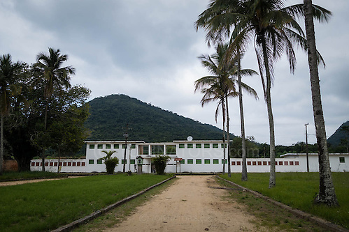 The abandoned prison in Dois Rios on the island of Ilha Grande, Brazil. Photo by Andrew Tobin/Tobinators Ltd (Andrew Tobin/Tobinators)