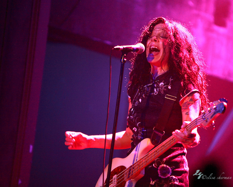 Concrete Blonde performs on January 25th, 2012 at the Neptune Theatre in Seattle, Washington (Elisa Sherman)