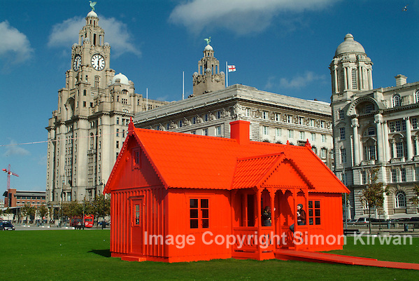 Musique Royale Red House Peter Johansson Liverpool Biennial 2004 - photo by Simon Kirwan