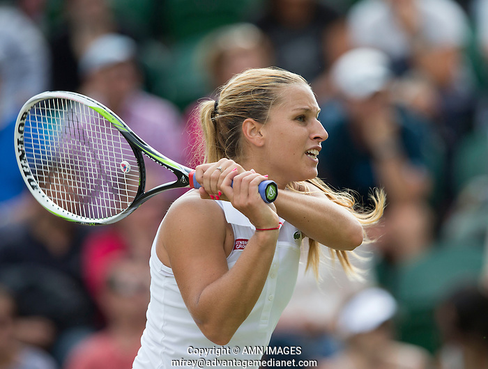 DOMINICA CIBULKOVA (SVK) The Championships Wimbledon 2014 - The All England Lawn Tennis Club -  London - UK -  ATP - ITF - WTA-2014  - Grand Slam - Great Britain -  27th June 2014.  © AMN IMAGES (FREY/FREY- AMN Images)