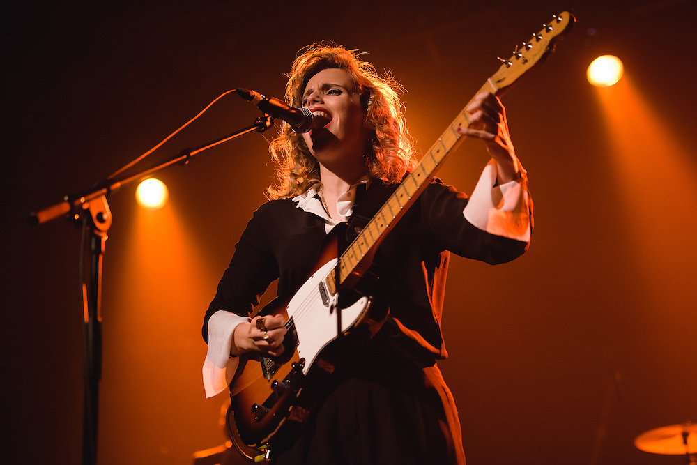 Photos of Anna Calvi performing live at Harpa Concert Hall during Iceland Airwaves Music Festival 2014 in Reykjavik, Iceland. November 7, 2014. Copyright © 2014 Matthew Eisman. All Rights Reserved (Matthew Eisman/Photo by Matthew Eisman)