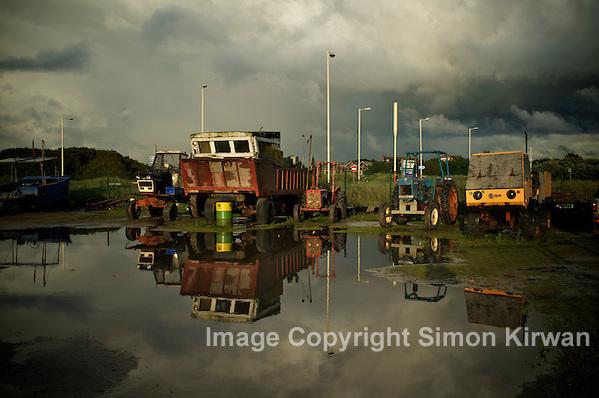 Southport Amphibious Shrimping Vehicle Fleet - photo by Simon Kirwan