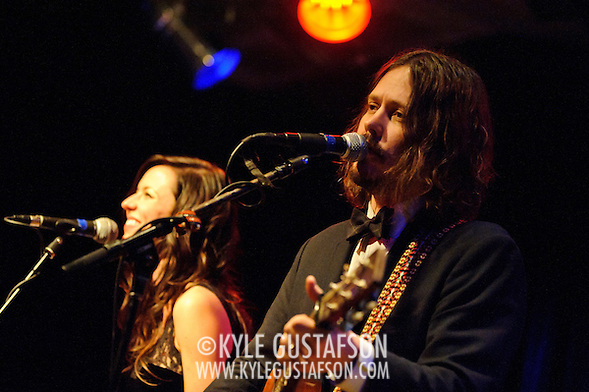 VIENNA, VA - February 12th, 2011: The Civil Wars (Joy Williams and John Paul White) perform at Jammin' Java. The duo's debut album, Barton Hollow, was released on February 1st and debuted at #1 on the iTunes Music Chart and #12 on the US Billboard 200.  (Photo by Kyle Gustafson/For The Washington Post) (Photo by Kyle Gustafson / For The Washington Post)