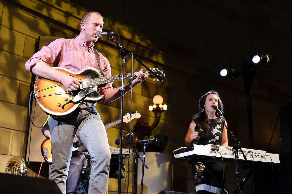Photos of the band Lost in the Tress performing at the 11th annual Jed Foundation gala event in Gotham Hall, NYC. June 7, 2012. Copyright © 2012 Matthew Eisman. All Rights Reserved. (Photo by Matthew Eisman/Getty Images)