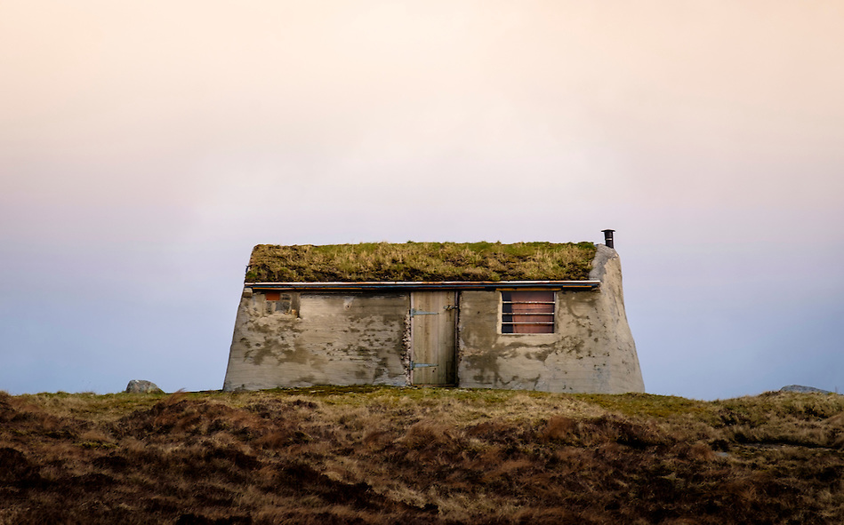 LEWIS AND HARRIS, SCOTLAND - CIRCA APRIL 2016: House in the outer islands of Lewis and Harris in Scotland.. (Daniel Korzeniewski)