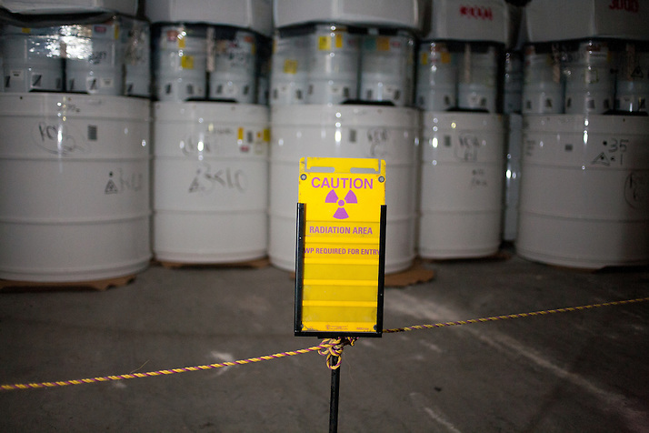 Radioactive waste is stored 2150 ft underground inside The Waste Isolation Pilot Plant in Eddy County. WIPP received $172 million as part of the Recovery and Reinvestment Act accelerate nuclear waste cleanup. (Steven St. John)
