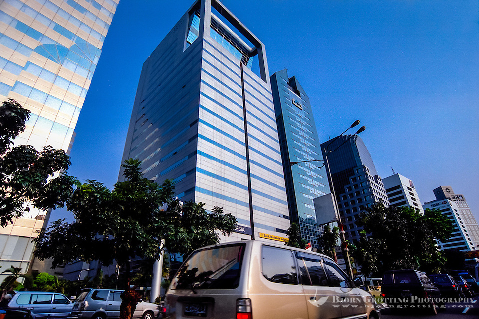 Indonesia, Java, Jakarta. Jakarta with around 10 million inhabitants had a huge economic growth in the 1990s, until the Asia crisis turned Indonesia close to bankrupcy. (Photo Bjorn Grotting)