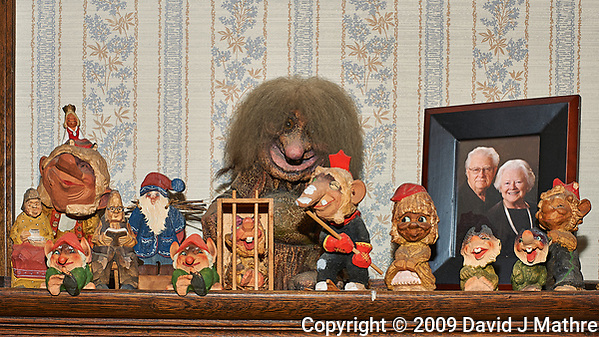 Troll Family Portrait. Composite of 47 focus stacked images taken with a Nikon D3x camera and 50 mm f/1.4 lens (ISO 100, 50 mm, f/8, 1/60 sec). Raw images processed with Capture One Pro and Helicon Focus (method C). (David J Mathre)