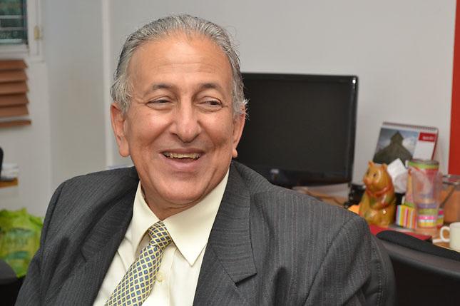 Julián Serulle, candidato del Frente Amplio