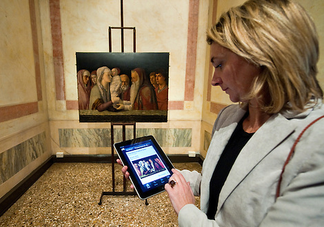 Venice Decem,be 22nd Launch at Fondazione Querini Stampalia of the Ipad Ipod Apple application. The Querini Stampalia is the first museum in Venice to have its own Apple application on sale...***Agreed Fee's Apply To All Image Use***.Marco Secchi /Xianpix.tel +44 (0)207 1939846.tel +39 02 400 47313. e-mail sales@xianpix.com.www.marcosecchi.com (Marco Secchi)