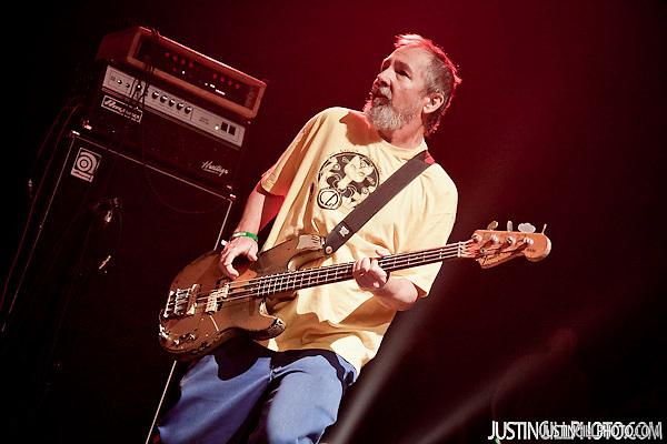 Black Flag Chuck Dukowski Live Concert Santa Monica Auditorium (Justin Gill)