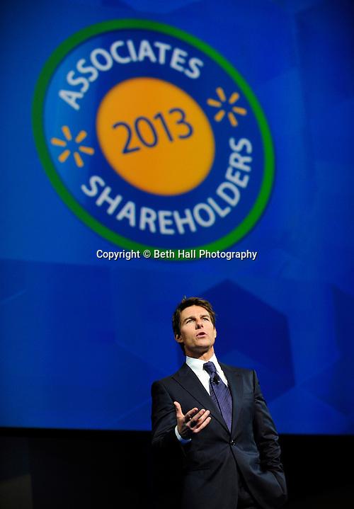 Wal-Mart Shareholder's meeting on Friday, June 7, 2013 in Fayetteville, Ark. (Beth Hall)