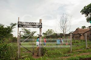 Pará State, Brazil. Komomoyea Kovoero Secondary School, in Aldeia Indigena Kuxonety Pokee, a Terena village in the Gleba Iriri Indigenous Territory. (Sue Cunningham/SCP)