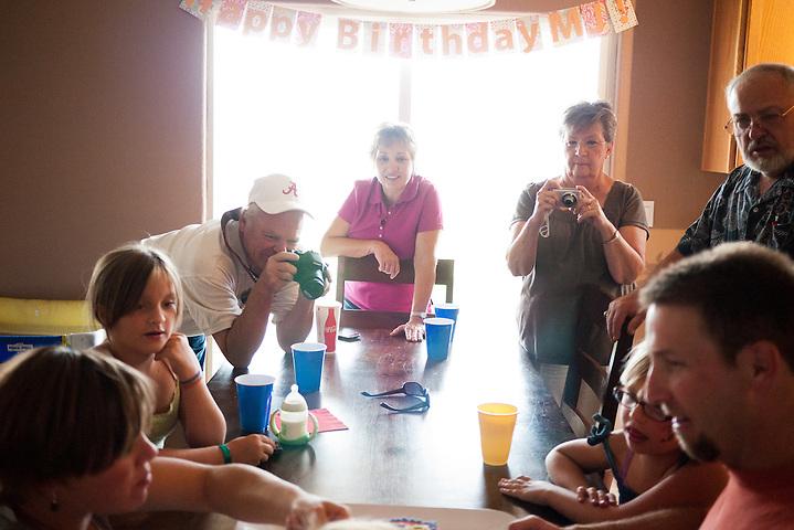 MJ's first birthday party (Steven St. John)
