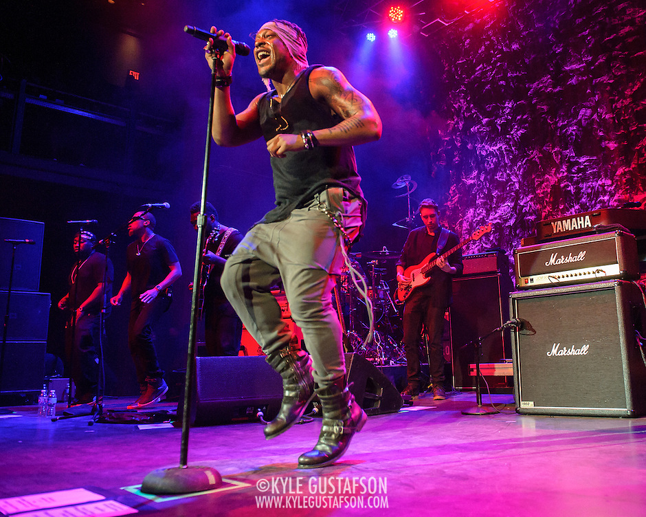 SILVER SPRING, MD - June 26, 2015 - D'Angelo performs at the Fillmore Silver Spring in Silver Spring, MD. He ended a 14-year hiatus in December 2014 by releasing his third studio album, Black Messiah. (Photo by Kyle Gustafson / For The Washington Post) (Kyle Gustafson/For The Washington Post)
