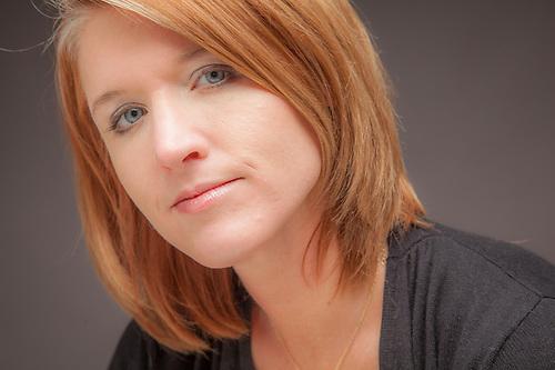 Graphic designer Heather Turning, Anchorage (© Clark James Mishler)