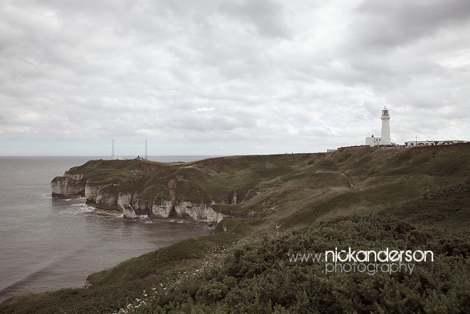 The lighthouse on the Flamborough Headland of East Yorkshire was built in 1806 (Nick Anderson)