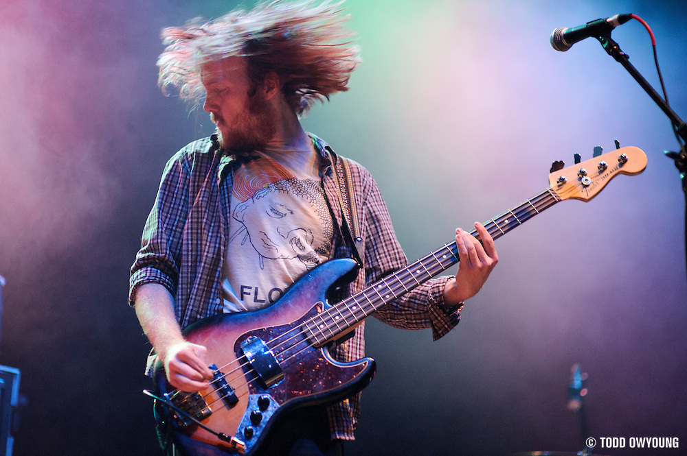 Sleeper Agent performing in support of Cage the Elephant at the Pageant in St. Louis on December 13, 2011. (Todd Owyoung)