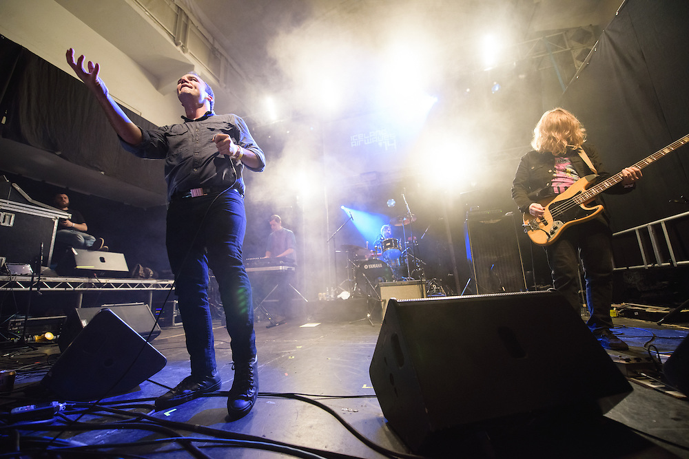 Photos of Future Islands performing live at Reykjavik Art Museum during Iceland Airwaves Music Festival 2014 in Reykjavik, Iceland. November 8, 2014. Copyright © 2014 Matthew Eisman. All Rights Reserved (Matthew Eisman/Photo by Matthew Eisman)