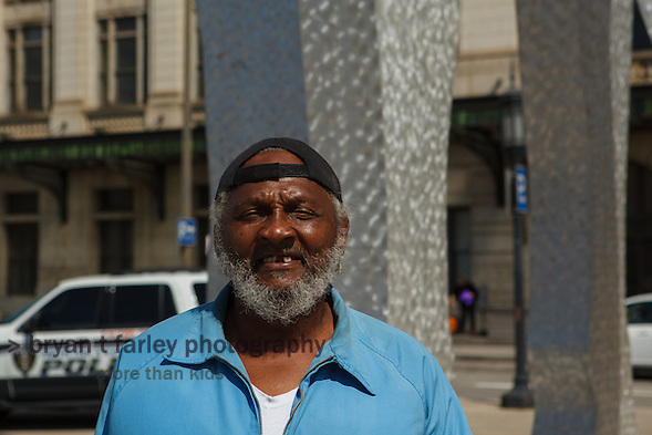 Penn Station in Baltimore is the 8th busiest train depot in the country. A homeless man who called himself Tyronne wanted to be photographed after I told him I take pictures and write about people. We also shared common stories about living with epilepsy. (bryan farley)