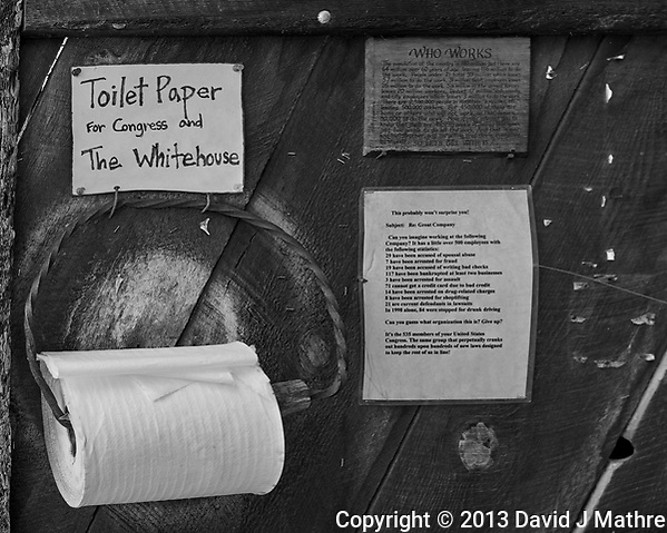 Political Message at Gold King Mine and Ghost Town. Junk Yard and Tourist Trap. Image taken with a Nikon D800 camera and 35 mm f/1.4 lens. (David J Mathre)