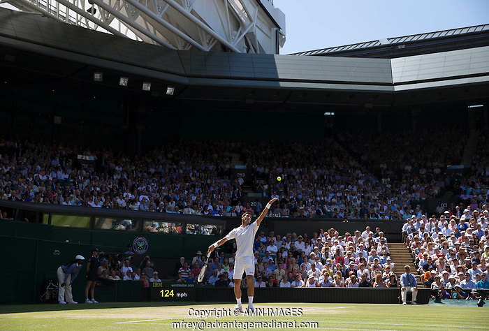 NOVAK DJOKOVIC (SRB) The Championships Wimbledon 2014 - The All England Lawn Tennis Club -  London - UK -  ATP - ITF - WTA-2014  - Grand Slam - Great Britain -  4th July  2014.  © AMN IMAGES (FREY/FREY- AMN Images)