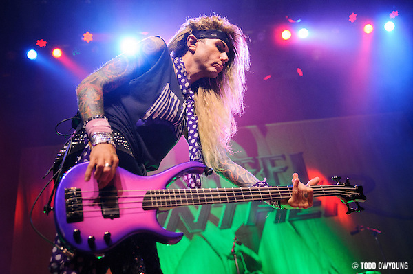 Photos of the LA band Steel Panther performing at the Pageant in St. Louis on July 25, 2012. (TODD OWYOUNG)