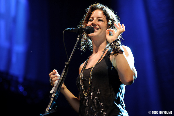 Sarah McLachlan perfroming at Lilith Fair 2010 at Verizon Wireless Amphitheater in on July 16, 2010 (TODD OWYOUNG)