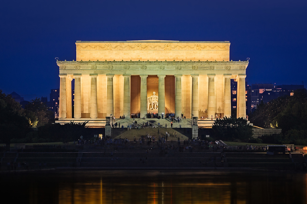 Lincoln Memorial in the National Mall in Washington, DC (Doug Oglesby)