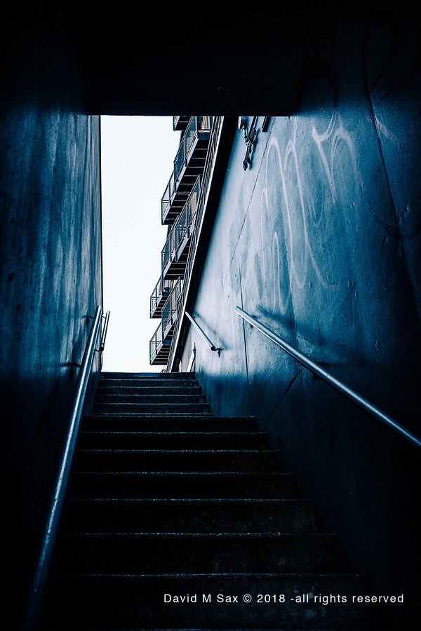 7.22.18 - Stairway Up....Or Down.... (© David M Sax 2018 - all rights reserved)