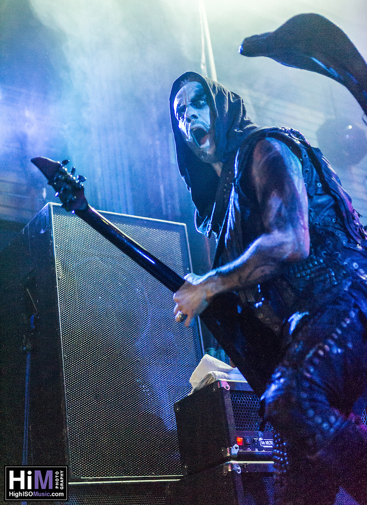 Behemoth at the House of Blues in New Orleans, LA. (2015)