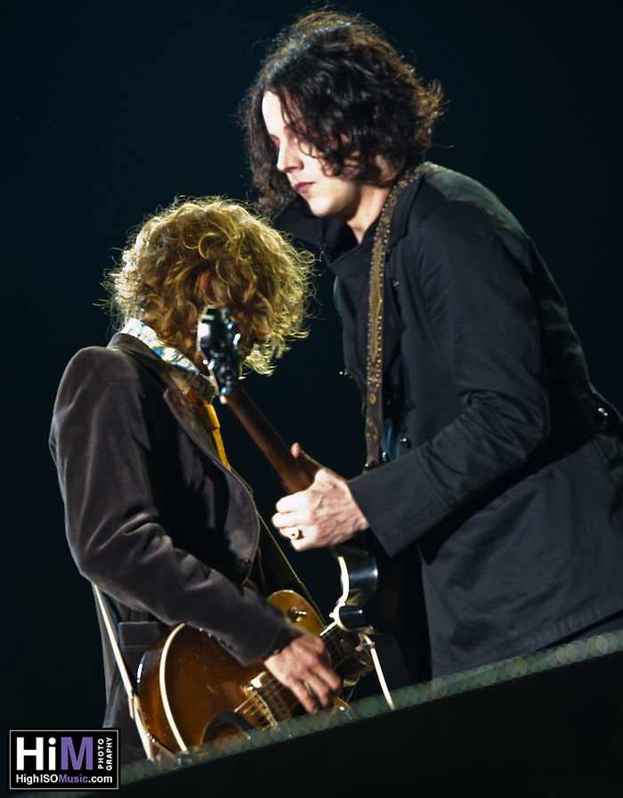 The Raconteurs at the 2011 Voodoo Festival in New Orleans, LA. (Golden G. Richard III)