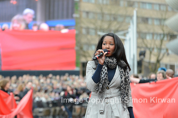 Jamelia at Preston Passion - photo by Simon Kirwan
