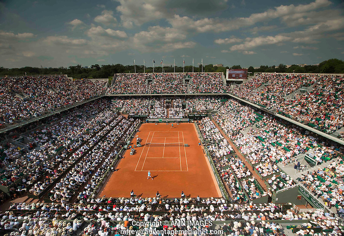 AMBIENCE Tennis - French Open 2014 -  Roland Garros - Paris -  ATP-WTA - ITF - 2014  - France -  8th June 2014.  © AMN IMAGES (FREY/FREY- AMN Images)