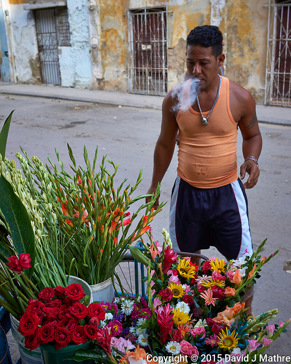 Cuban Cigar. Morning Walkabout in Old Havana. Image taken with a Leica T camera and 23 mm f/2 camera. (David J Mathre)