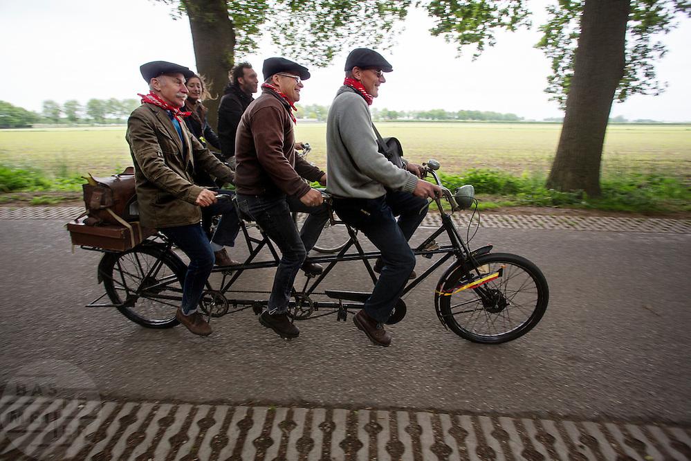 Bij Utrecht wordt de tandemtocht gehouden.