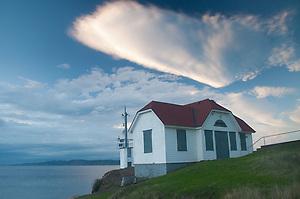 Lighthouse at Turn Point, Stuart Island, Washington, US (Roddy Scheer)