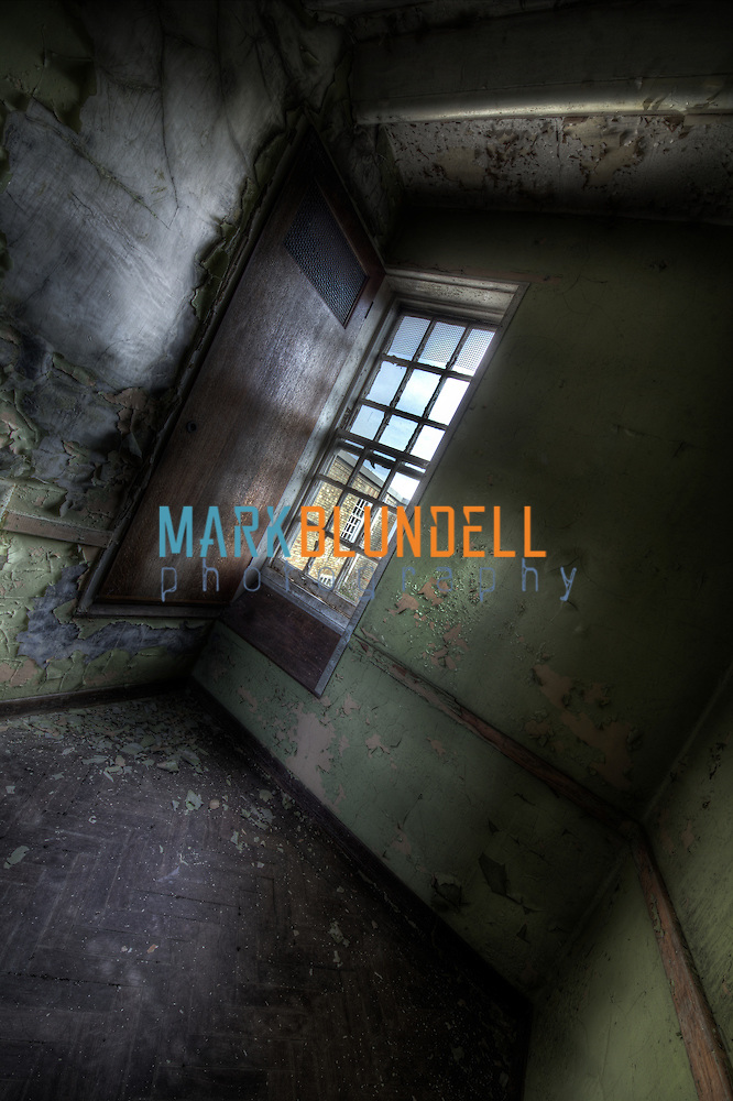 secure unit at Runwell Hospital. One of the many small rooms that the mental patients were kept in. (Mark Blundell)