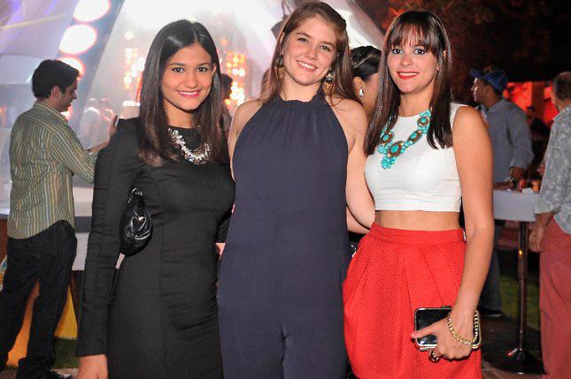 Alexandra Rodriguez, Nicole Pou y Maria Gonzalez