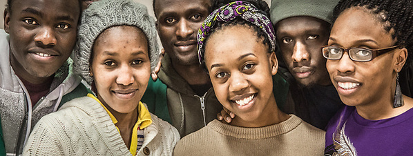 Team Kenya, University of Alaska Anchorage. (Clark James Mishler)