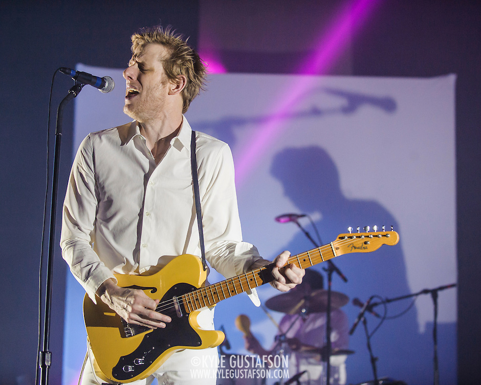 WASHINGTON, DC - September 2nd, 2014 - Britt Daniel of Spoon performs during the first of three sold-out nights at the Lincoln Theatre in Washington, D.C. (Photo by Kyle Gustafson / For The Washington Post) (Kyle Gustafson/For The Washington Post)