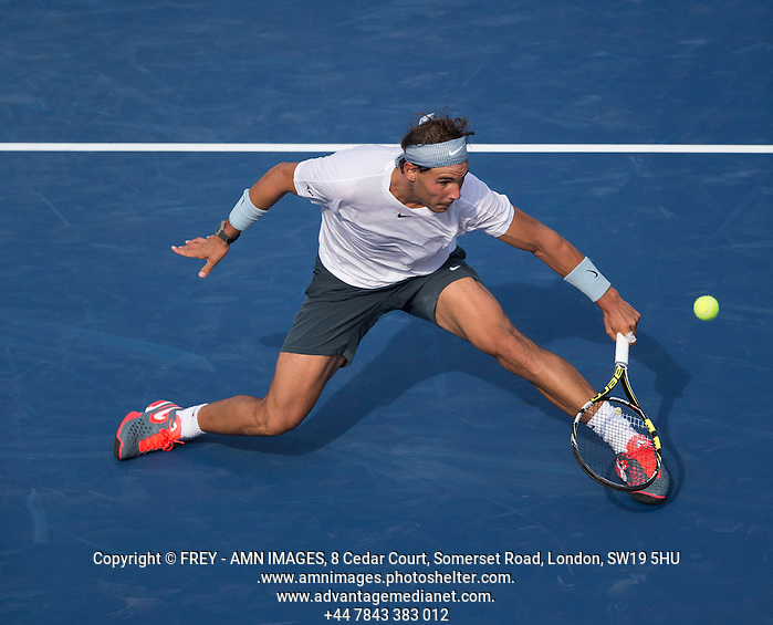 Rafael Nadal Tennis - US Open  - Grand Slam -  Flushing Meadows  2013 -  New York - USA - United States of America - Saturday 31st August 2013.  © AMN Images, 8 Cedar Court, Somerset Road, London, SW19 5HU Tel - +44 7843383012 mfrey@advantagemedianet.com www.amnimages.photoshelter.com www.advantagemedianet.com www.tennishead.net (FREY - AMN IMAGES)