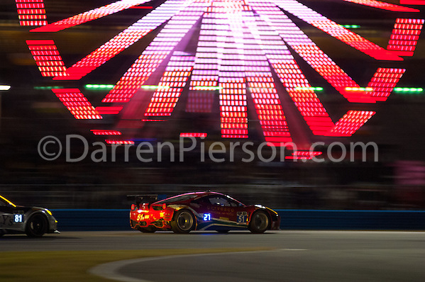 #51 Spirit of Race Ferrari 458 Italia: Matt Griffin, Marco Cioci, Michele Rugolo , Jack Gerber (Darren Pierson)