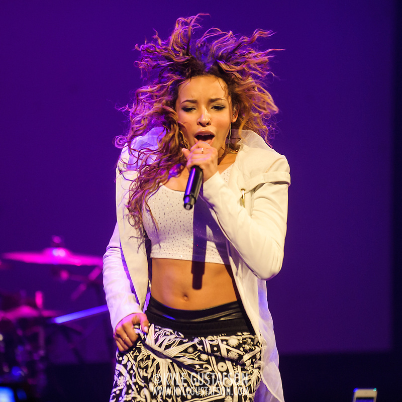 "WASHINGTON, DC - December 17th, 2014 - Tinashe performs at the Howard Theatre in Washington, D.C. Aquarius, her debut album, was released earlier this year and featured the Top 40 hit song ""2 On."" (Photo By Kyle Gustafson / For The Washington Post) (Kyle Gustafson/For The Washington Post)"