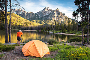McGown Peak Photographer. This majestic peak towers over Stanley Lake in the Sawtooth National Forest. (Daryl L. Hunter/© Daryl L. Hunter)