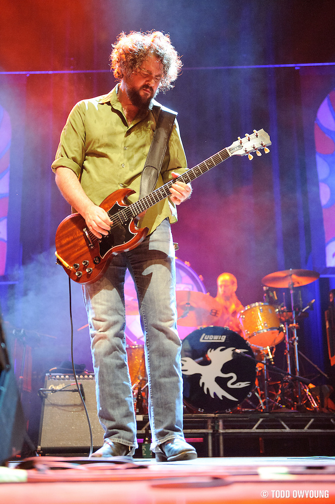 Drive-By Truckers performing at The Pageant in St. Louis on October 28, 2011. © Todd Owyoung. (Todd Owyoung)