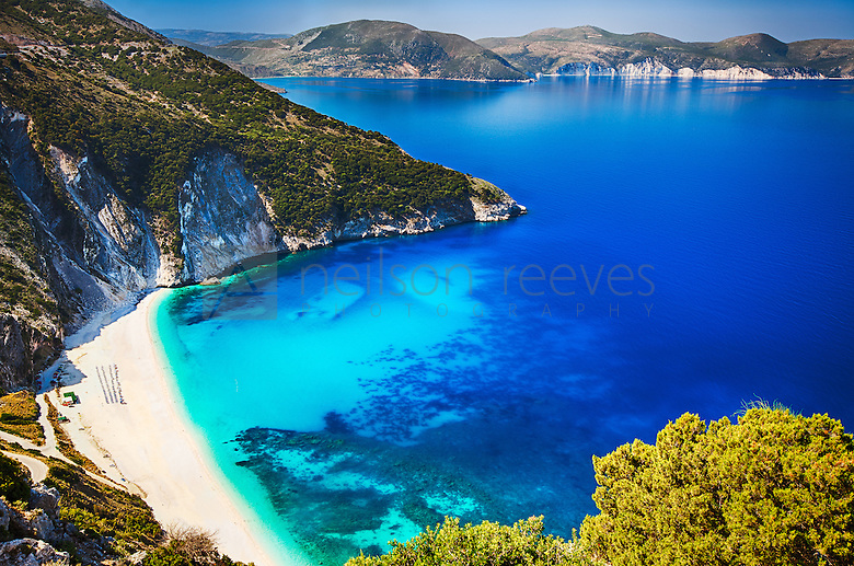 Myrtos beach professional landscape photography