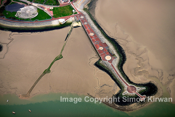 Morecambe Stone Jetty - Aerial Photography By Simon Kirwan