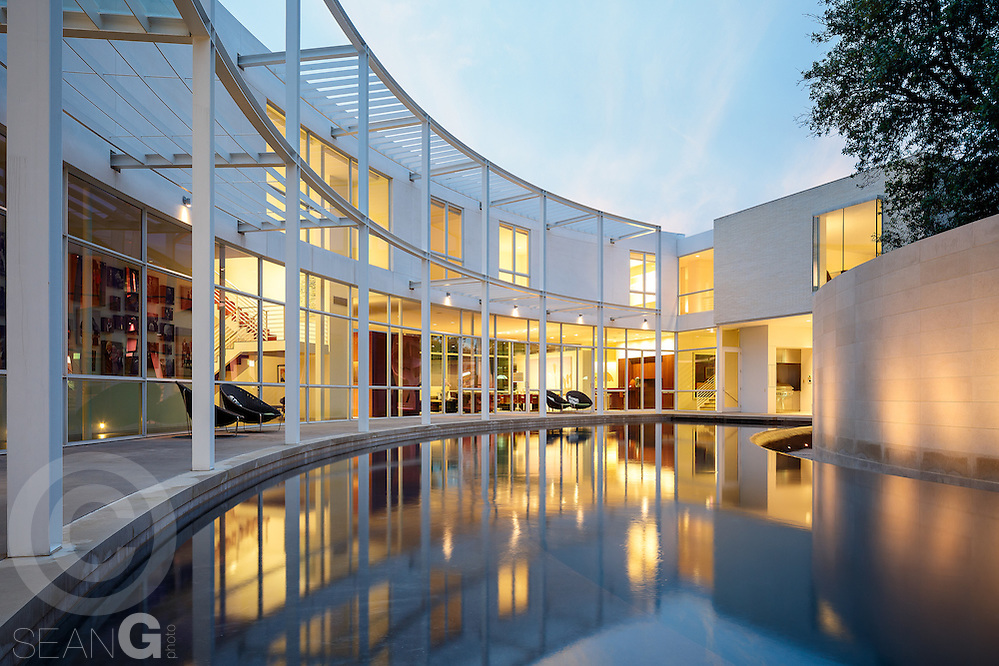 Contemporary Home, 6645 Northaven Road, Dallas, Texas (Sean Gallagher / Sean Gallagher Photography LLC)