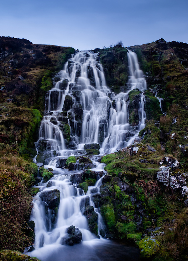 SCOTLAND - CIRCA APRIL 2016: The Bridal Veil Falls in Skye an Island in Scotland (Daniel Korzeniewski)
